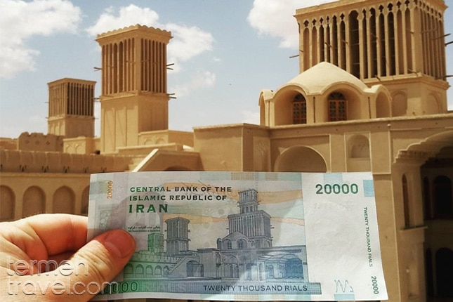 Iranian Money-Aghazadeh Mansion - Termeh Travel