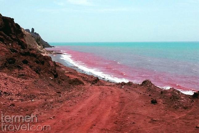 The Red Beach- Termeh Travel