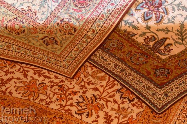 Pattern in Ghalamkari- Termeh Travel