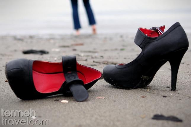 Ladies' Beach in Iran- Termeh Travel