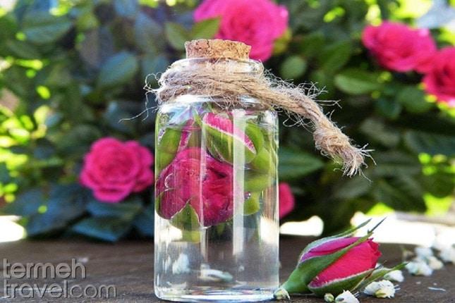 Rosewater for Persian Ice Cream- Termeh Travel