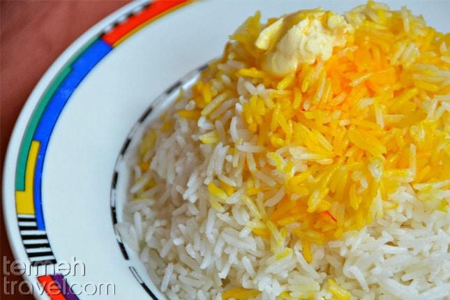 Persian rice- Termeh Travel