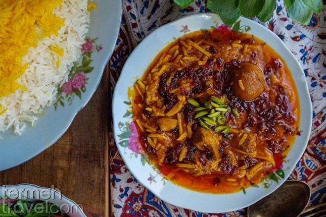 Khoresh Khalal- Termeh Travel