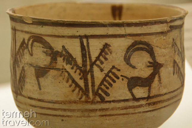 The first animation on a bowl found in Shahr-e Sukhteh, Iran- Termeh Travel