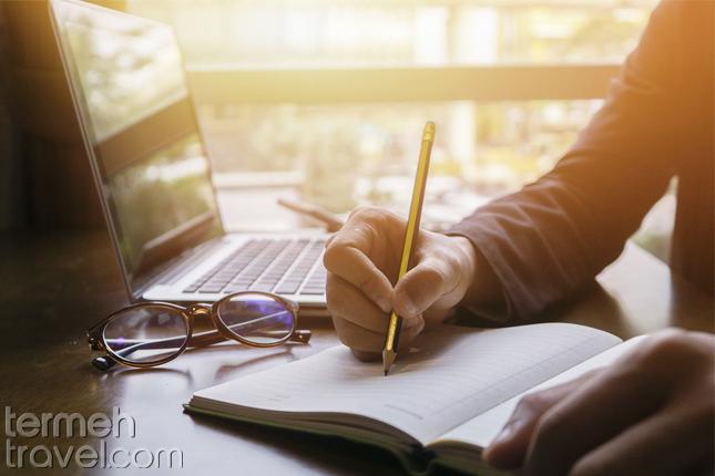Writing in Farsi- Termeh Travel