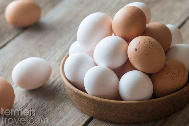 Eggs in a bowl- Termeh Travel