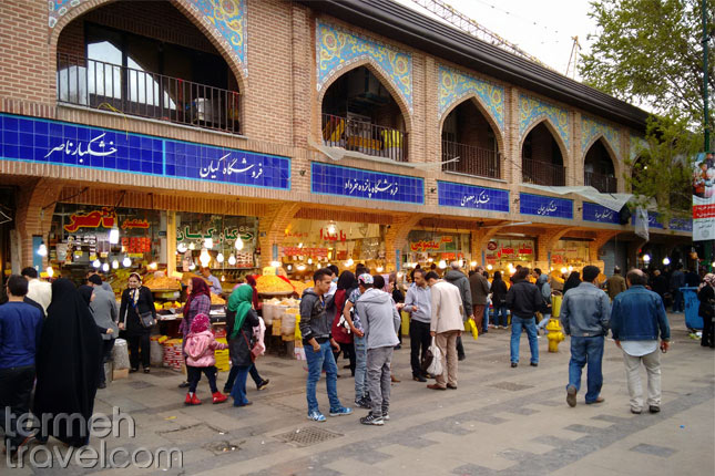 Iranians in Tehran Bazaar- Iran's Safety- - Termeh Travel