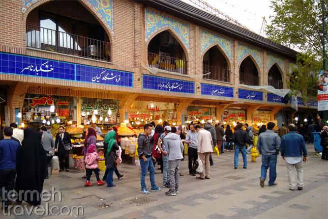 Iranians in Tehran Bazaar- Iran's Safety- - Termeh Travel