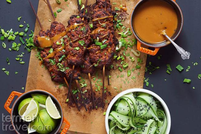 Kabab-Koobideh-Vegan Termeh Travel