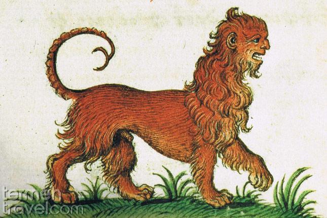 Maticore- The Persian Mythological Creature- Termhe Travel