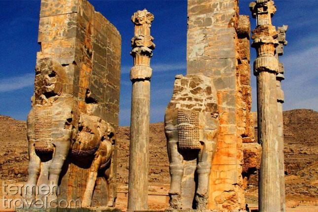 Persepolis-Iran- Persian mythological creatures- Termhe Travel