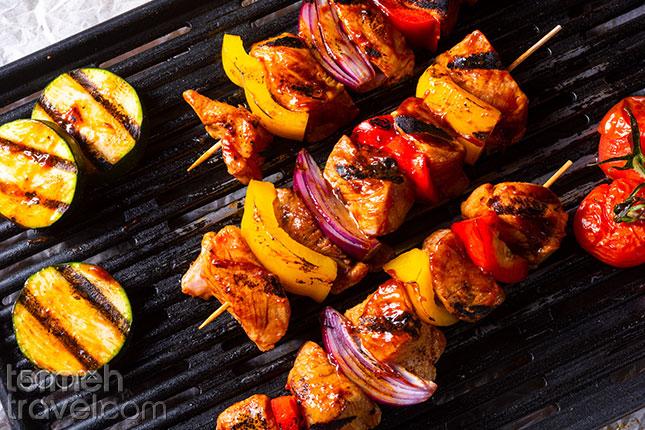 Vegetable-Chicken-Termeh-Travel