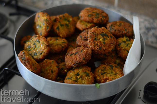 Falafel in a plate- Termeh Travel