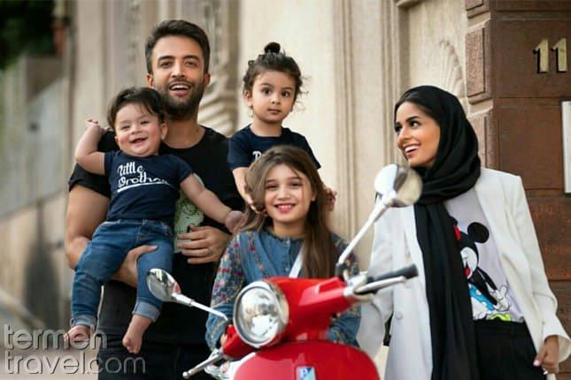 bENYAMIN bAHADORI AND HIS FAMILY- Termeh Travel