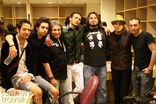 Black Cats band- Persian Music Bands- Termeh Travel