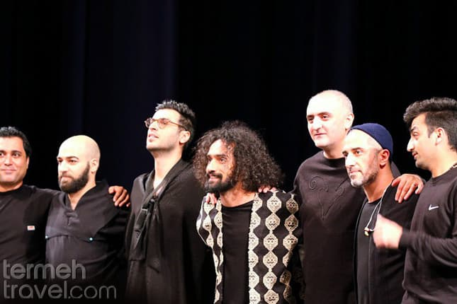 Damahi band on stage- Persian Music Bands- Termeh Travel