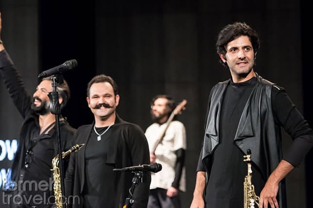 Dang Show on stage- Persian Music Bands- Termeh Travel