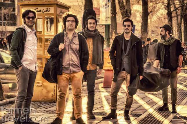 Pallet Band in Valiasr Street- Tehran- Tereh Travel