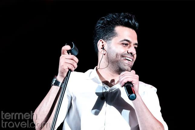 Reza Bahram- Recent Persian pop singers- Termeh Travel