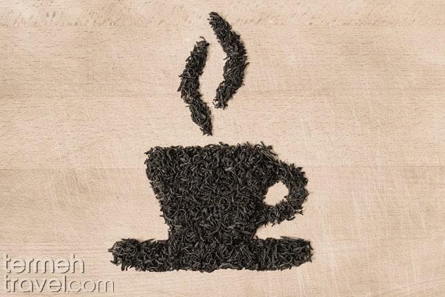 Persian dried black tea- Termeh Travel