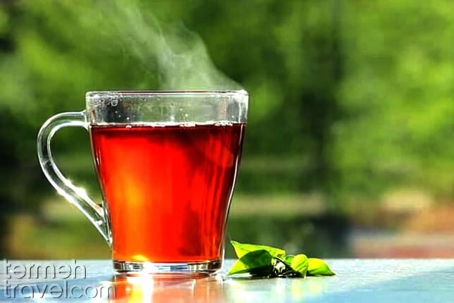Persian tea- Termeh Travel