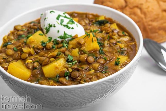A bowl of Adasi