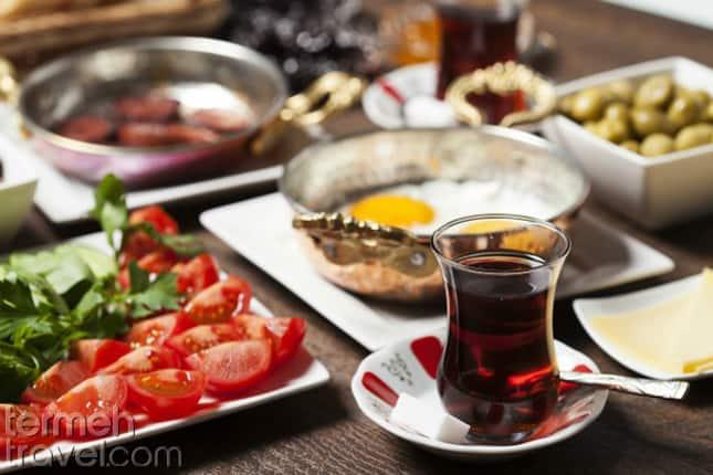 Persian Breakfast- Termeh Travel