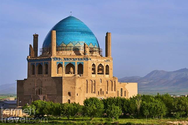 Ilkhanid Building- Termeh Travel