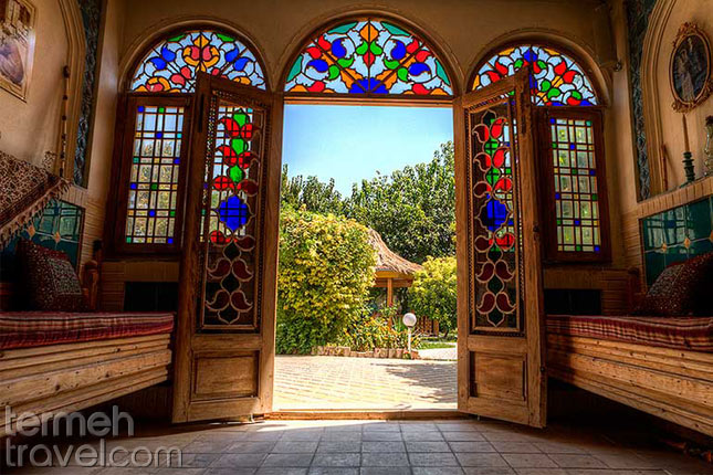 Traditional houses in Iran- Termeh Travel