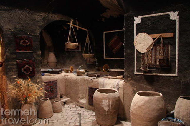 Persian traditional house kitchen- Termeh Travel