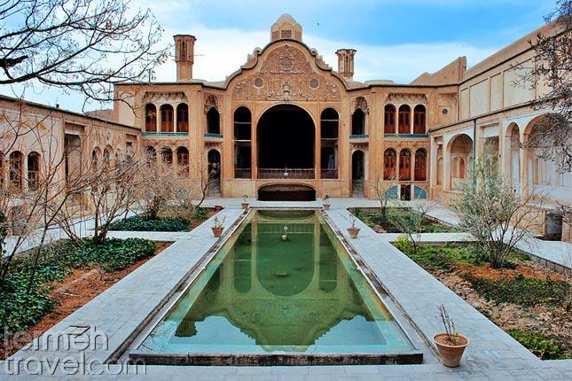 Traditional houses in Iran- Kashan- Termeh Travel