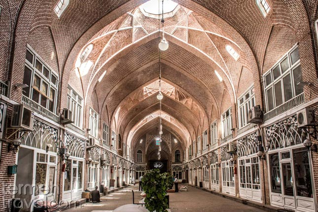 Tabriz's Bazar- Termeh Travel