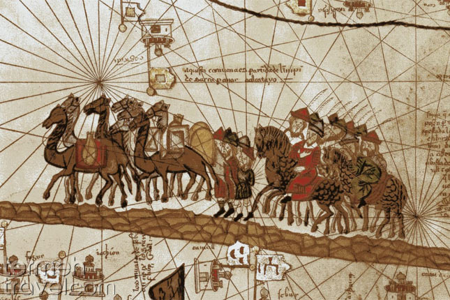 Marco Polo's Adventures in Iran- Termeh travel