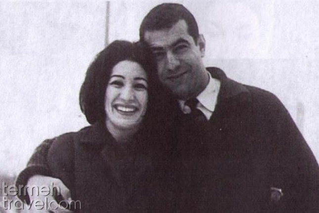 Forough Farrokhzad and Ibrahim Golesan- Termeh Travel