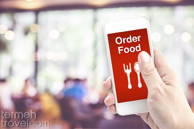 Ordering Persina food- Termeh Travel