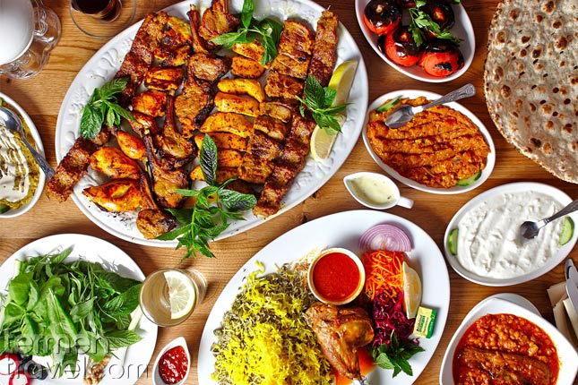 Persian restaurant- Termeh Travel
