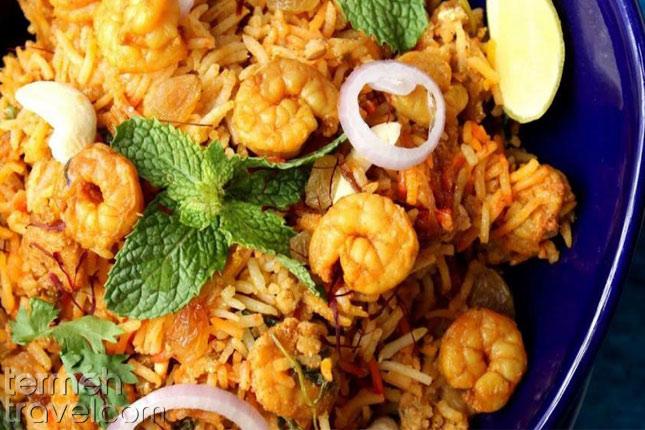 Shrimp Rice- Termeh Travel