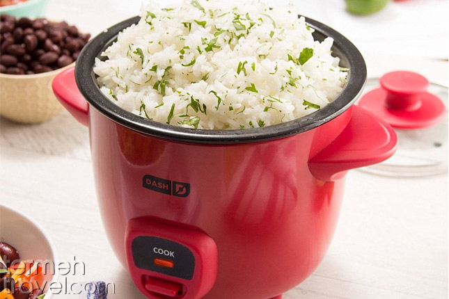 Rice cooker- Persian cooking ware- Termeh Travel