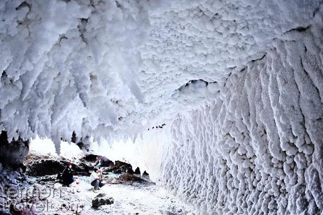 Salt cave- Hormuz- Termeh Travel