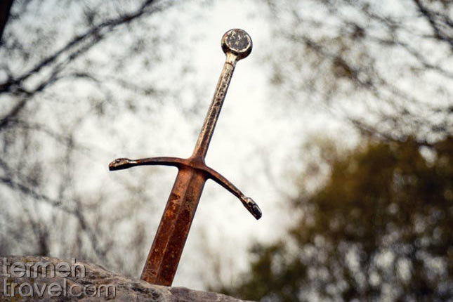 Sword in stone- Persian mythocal creatures- Termeh Travel
