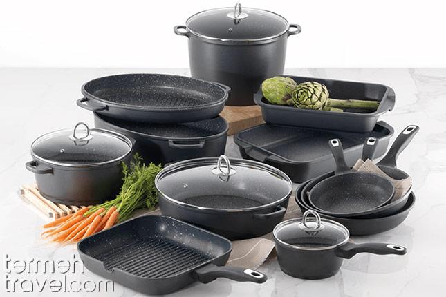 Persian cooking utilities- Pots- Termeh Travel
