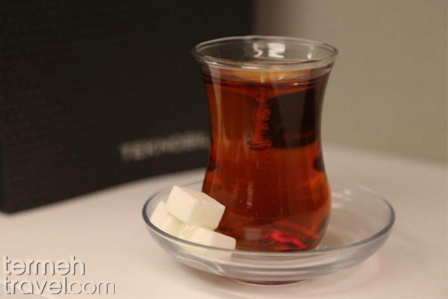 Persian Tea Glass- Termeh Travel