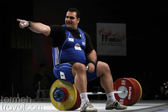 Behdad Salimi Persian Athletes - Termeh Travel