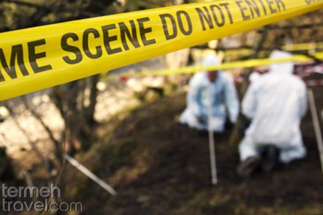Crime scene- Termeh Travel