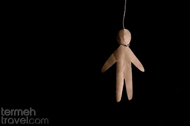 Hanged paper man- Iranian female murderers- Termeh Travel